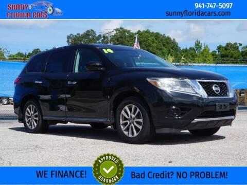 2014 Nissan Pathfinder for sale at Sunny Florida Cars in Bradenton FL