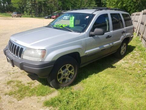 2003 Jeep Grand Cherokee for sale at Northwoods Auto & Truck Sales in Machesney Park IL