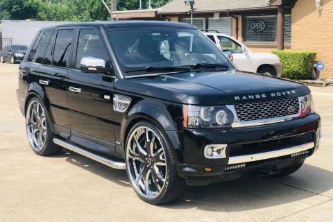 2013 Land Rover Range Rover Sport for sale at Safeen Motors in Garland TX