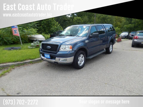 2004 Ford F-150 for sale at East Coast Auto Trader in Wantage NJ