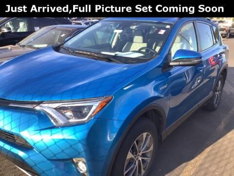 2018 Toyota RAV4 Hybrid for sale at Royal Moore Custom Finance in Hillsboro OR