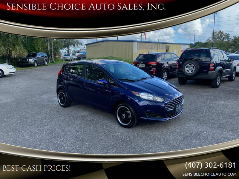 2016 Ford Fiesta for sale at Sensible Choice Auto Sales, Inc. in Longwood FL