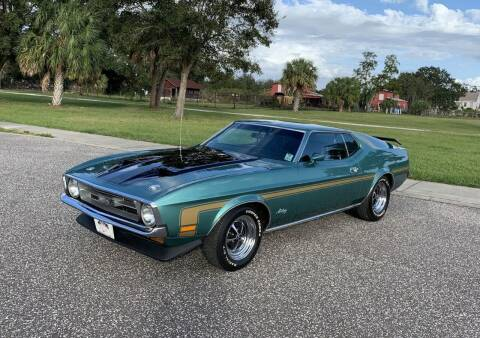 1972 Ford Mustang for sale at P J'S AUTO WORLD-CLASSICS in Clearwater FL