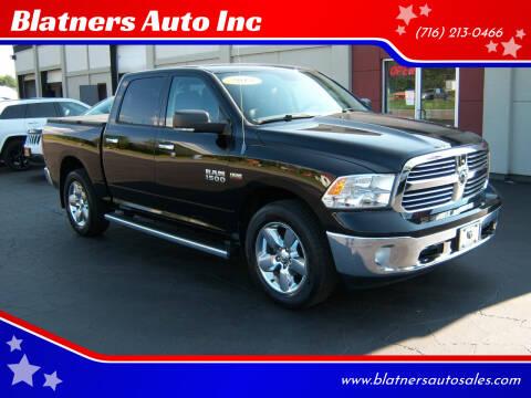 2013 RAM Ram Pickup 1500 for sale at Blatners Auto Inc in North Tonawanda NY