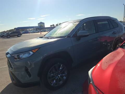 2020 Toyota RAV4 for sale at Florida Fine Cars - West Palm Beach in West Palm Beach FL