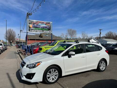 2015 Subaru Impreza for sale at AWD Denver Automotive LLC in Englewood CO