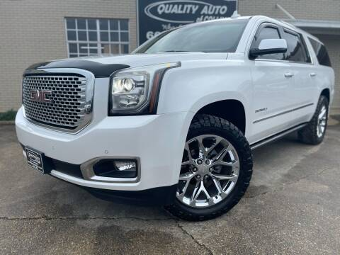 2016 GMC Yukon XL for sale at Quality Auto of Collins in Collins MS