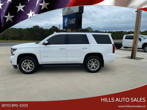 2019 Chevrolet Tahoe for sale at Hills Auto Sales in Salem AR