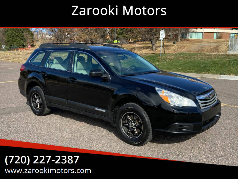 2010 Subaru Outback for sale at Zarooki Motors in Englewood CO