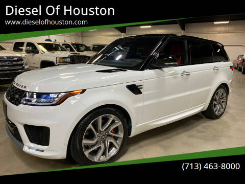 2019 Land Rover Range Rover Sport for sale at Diesel Of Houston in Houston TX