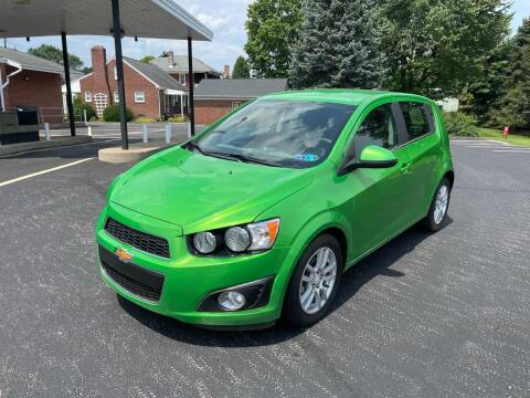 2015 Chevrolet Sonic for sale at Jackie's Car Shop in Emigsville PA
