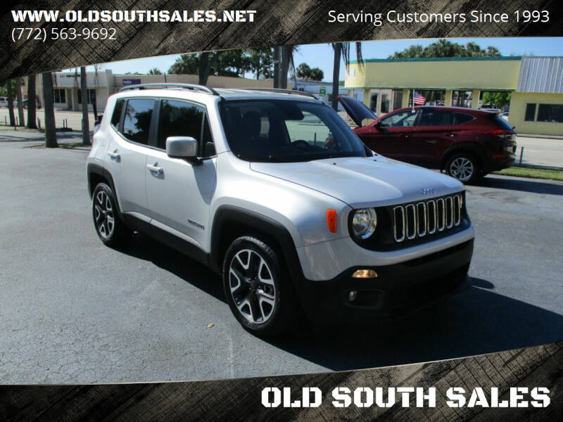 2018 Jeep Renegade for sale at OLD SOUTH SALES in Vero Beach FL