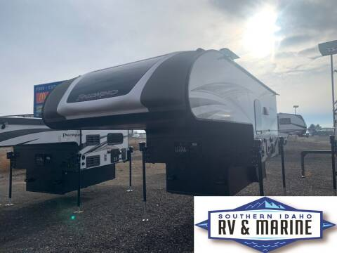 2021 FOREST RIVER PALOMINO HRHS-750 for sale at SOUTHERN IDAHO RV AND MARINE - Truck Campers - New and Used in Jerome ID