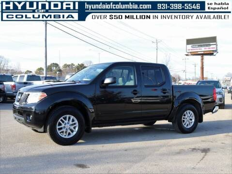 2019 Nissan Frontier for sale at Hyundai of Columbia Con Alvaro in Columbia TN