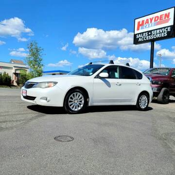 2009 Subaru Impreza for sale at Hayden Cars in Coeur D Alene ID