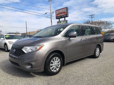 2013 Nissan Quest for sale at Autohaus of Greensboro in Greensboro NC