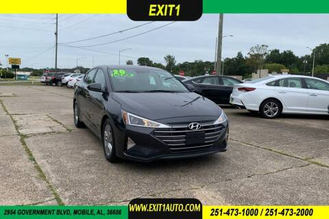2020 Hyundai Elantra for sale at Exit 1 Auto in Mobile AL