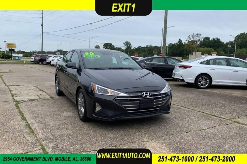 2020 Hyundai Elantra for sale at Exit 1 Auto in Mobile AL