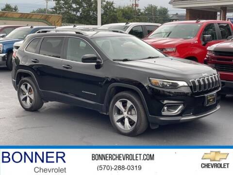 2019 Jeep Cherokee for sale at Bonner Chevrolet in Kingston PA