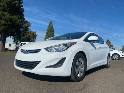 2016 Hyundai Elantra for sale at Pacific Auto LLC in Woodburn OR