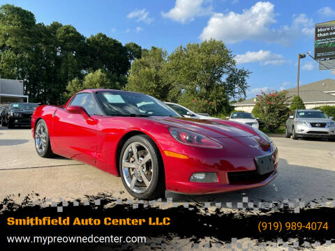 2008 Chevrolet Corvette for sale at Smithfield Auto Center LLC in Smithfield NC