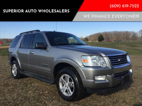 2008 Ford Explorer for sale at Superior Auto Wholesalers in Burlington City NJ