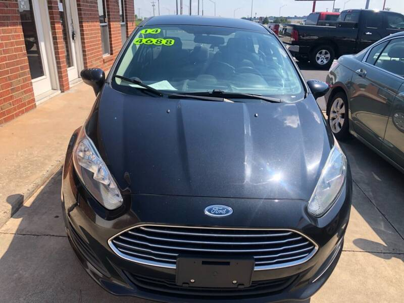 2014 Ford Fiesta for sale at Moore Imports Auto in Moore OK