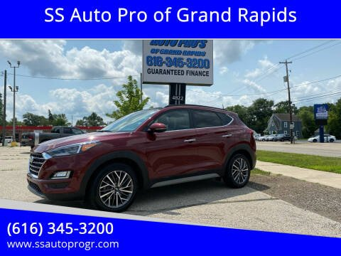 2020 Hyundai Tucson for sale at SS Auto Pro of Grand Rapids in Kentwood MI