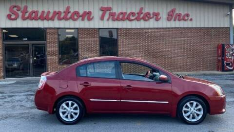 2010 Nissan Sentra for sale at STAUNTON TRACTOR INC in Staunton VA