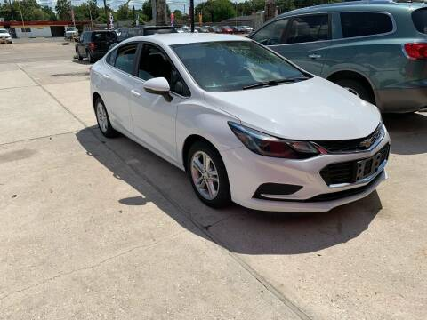 2016 Chevrolet Cruze for sale at PICAZO AUTO SALES in South Houston TX