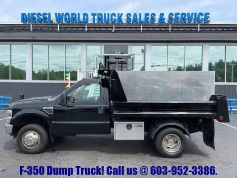 2008 Ford F-350 Super Duty for sale at Diesel World Truck Sales - Dump Truck in Plaistow NH