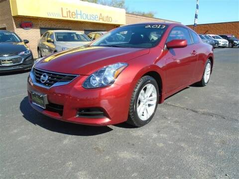 2013 Nissan Altima for sale at Cj king of car loans/JJ's Best Auto Sales in Troy MI