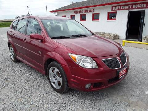 2006 Pontiac Vibe for sale at Sarpy County Motors in Springfield NE