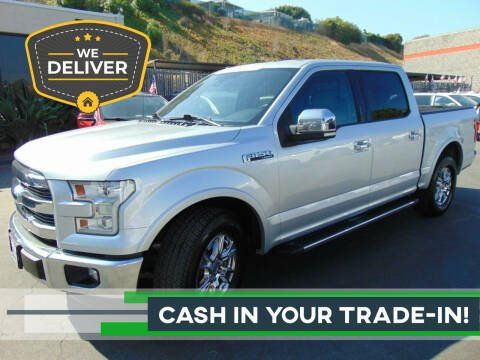2015 Ford F-150 for sale at So Cal Performance in San Diego CA