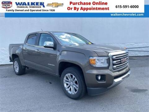 2015 GMC Canyon for sale at WALKER CHEVROLET in Franklin TN