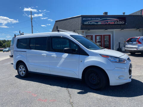 2016 Ford Transit Connect Wagon for sale at Maple Street Auto Center in Marlborough MA