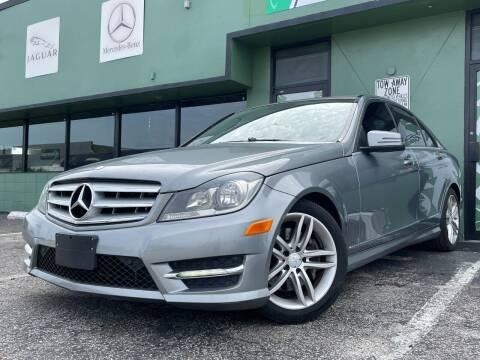 2013 Mercedes-Benz C-Class for sale at KARZILLA MOTORS in Oakland Park FL