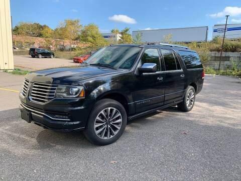2015 Lincoln Navigator L for sale at Velocity Motors in Newton MA