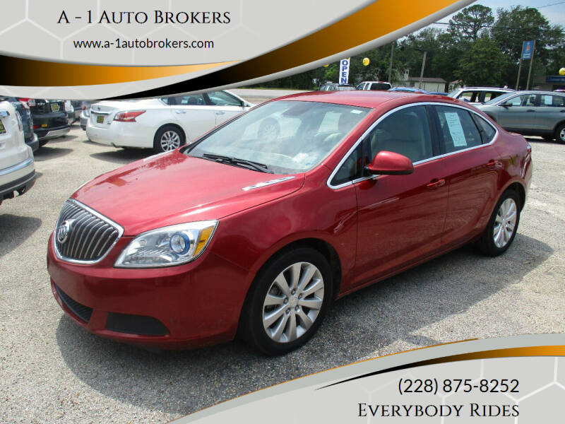 2015 Buick Verano for sale at A - 1 Auto Brokers in Ocean Springs MS