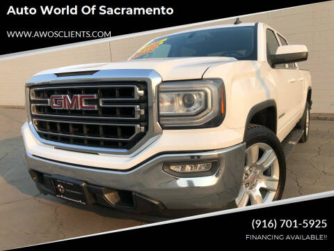 2016 GMC Sierra 1500 for sale at Auto World of Sacramento Stockton Blvd in Sacramento CA