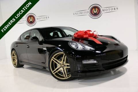 2012 Porsche Panamera for sale at Unlimited Motors in Fishers IN