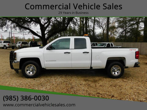 2016 Chevrolet Silverado 1500 for sale at Commercial Vehicle Sales in Ponchatoula LA