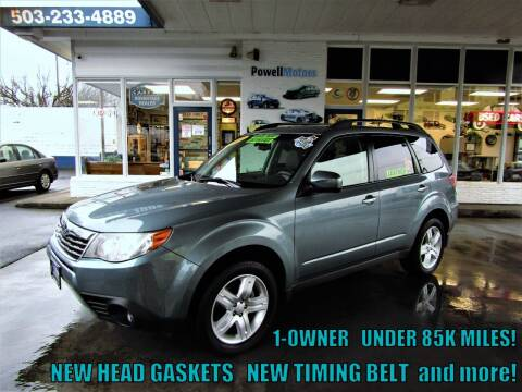 2010 Subaru Forester for sale at Powell Motors Inc in Portland OR