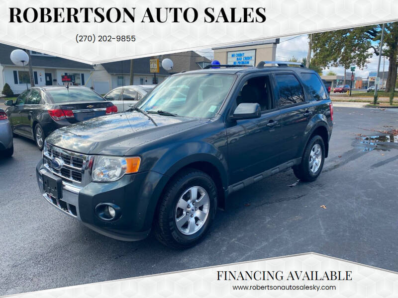 2009 Ford Escape for sale at ROBERTSON AUTO SALES in Bowling Green KY