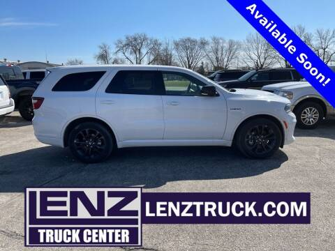 2021 Dodge Durango for sale at LENZ TRUCK CENTER in Fond Du Lac WI
