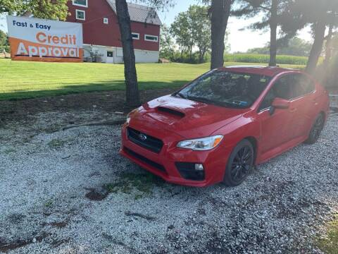 2017 Subaru WRX for sale at Caulfields Family Auto Sales in Bath PA