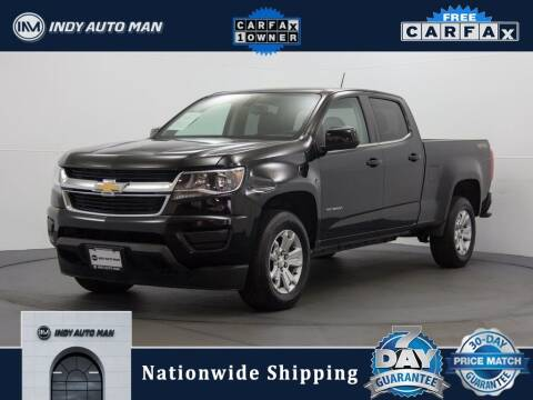 2018 Chevrolet Colorado for sale at INDY AUTO MAN in Indianapolis IN