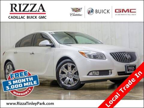 2012 Buick Regal for sale at Rizza Buick GMC Cadillac in Tinley Park IL