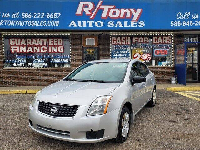 2009 Nissan Sentra for sale at R Tony Auto Sales in Clinton Township MI