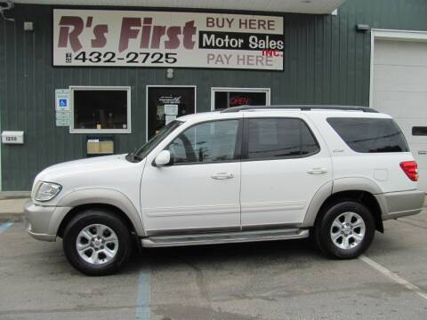 2004 Toyota Sequoia for sale at R's First Motor Sales Inc in Cambridge OH
